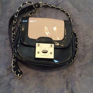 🖤🧡Black & tan crossbody purse